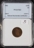 1883 - INDIAN HEAD CENT - PROOF