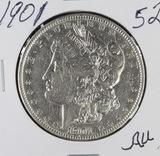 1901 - MORGAN DOLLAR - AU