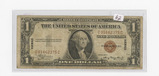 SERIES OF 1935-A ONE DOLLAR SILVER CERTIFICATE - HAWAII