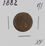 1882 - INDIAN HEAD CENT - XF