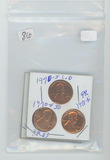 LOT OF 6 LINCOLN CENTS