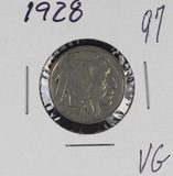 1928 - BUFFALO NICKEL -VG