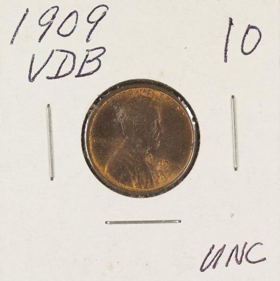 1909-VDB LINCOLN CENT - UNC