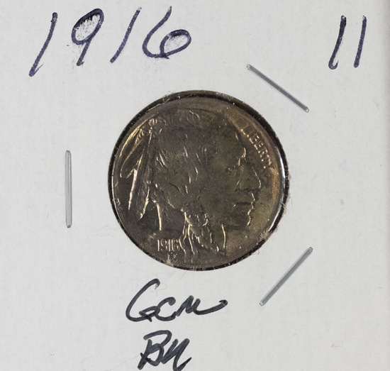 1916 - BUFFALO NICKEL - GEM BU