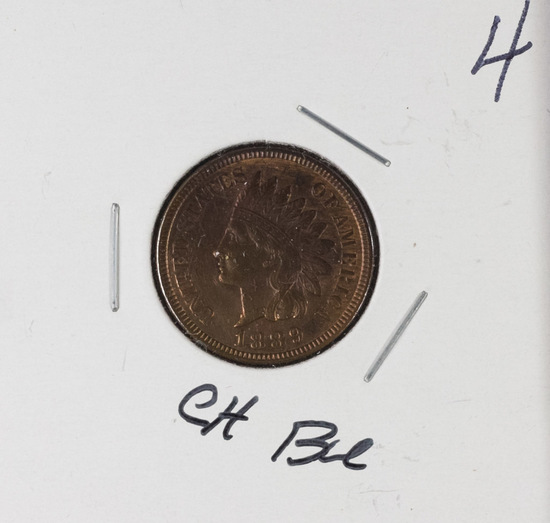 1889 - INDIAN HEAD CENT - CH BU