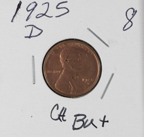 1925-D LINCOLN CENT - CH BU