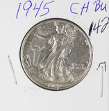 1945 - WALKING LIBERTY HALF DOLLAR - UNC