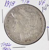 1878 -7/8 MORGAN DOLLAR - VF