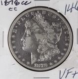 1878-CC MORGAN DOLLAR - VF+