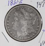 1881-S MORGAN DOLLAR - VF