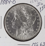 1884-O MORGAN DOLLAR - BU