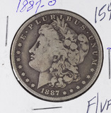 1887-O MORGAN DOLLAR - F/VF