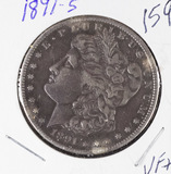 1891-S MORGAN DOLLAR - VF+