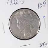 1922-S PEACE DOLLAR - XF+