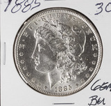 1885 - MORGAN DOLLAR - GEM BU