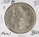 1886-O MORGAN DOLLAR - BU
