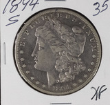 1894-S MORGAN DOLLAR - XF