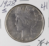 1928-S PEACE DOLLAR - XF