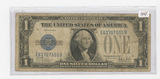SERIES 1928-B ONE DOLLAR SILVER CERTIFICATE - FUNNY BACK