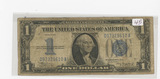 SERIES 1934 ONE DOLLAR SILVER CERTIFICATE - FUNNY BACK
