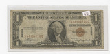 SERIES 1935-A ONE DOLLAR SILVER CERTIFICATE - HAWAII