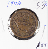 1846 - BRAIDED HAIR LARGE CENT - AU