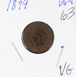 1879 - INDIAN HEAD CENT - VG