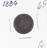 1884 - INDIAN HEAD CENT - G