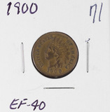 1900 - INDIAN HEAD CENT - XF