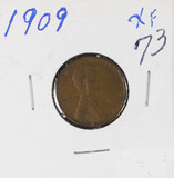 1909 - LINCOLN CENT - XF