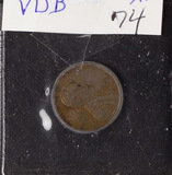 1909-VDB LINCOLN CENT - XF
