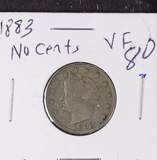 1883 NO CENT LIBERTY