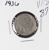 1936 - BUFFALO NICKEL - VF