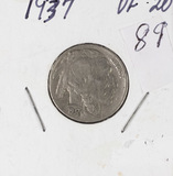 1937 - BUFFALO NICKEL - VF