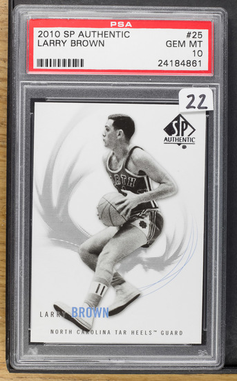 Larry Brown 2010 SP Authentic #25