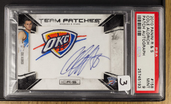 Cole Aldrich ** 2010 Panini R & S Team Patch