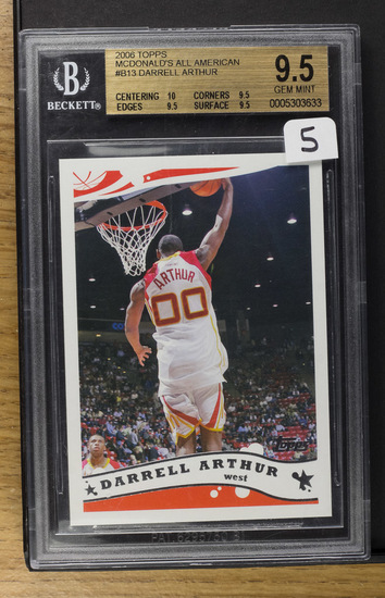 Darrell Arthur ** 2006 Topps McDonald's All