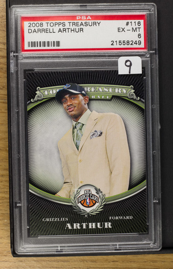 Darrell Arthur** 2008 Topps Treasury #116 (RC)