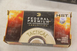 1 Box of 50, Federal Premium Tactical 9 mm