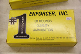 1 Box of 50, Enforcer 45 Auto 230 gr FMJ