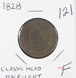 1828 - CLASSIC HEAD HALF CENT