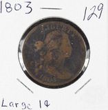 1803 - DRAPED BUST LARGE CENT  - AG/G