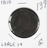 1810 - CLASSIC HEAD LARGE CENT - G