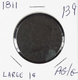 1811 - CLASSIC HEAD LARGE CENT AG/G