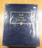 NEW WHITMAN CLASSIC HALF CENT ALBUM - NO COINS