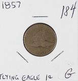 1857 - FLYING EAGLE CENT - G