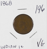 1868 - INDIAN HEAD CENT - VG