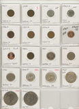 LOT OF 18 MISC US COINS - $3.05 FACE - SOME SILVER