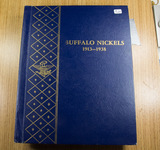 WHITMAN BOOK SHELF BUFFALO NICKEL ALBUM - NO COINS
