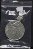 1923 - PEACE DOLLAR - UNC